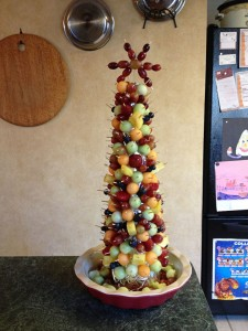 Fruit Christmas Tree - 2012
