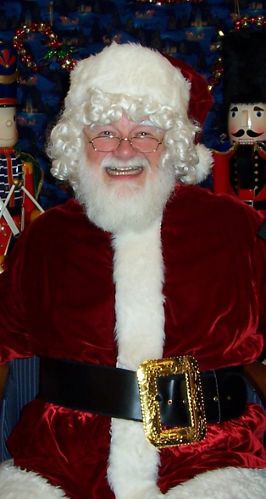 Jim as Santa Clause
