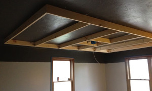 Frame for the ceiling box